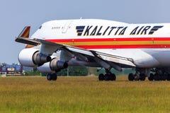 Kalitta Air Boeing 747 Arkivfoton