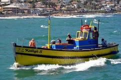 Kalk海湾港口开普敦,南非 免版税图库摄影