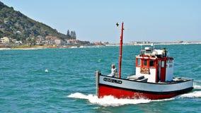 Kalk海湾港口开普敦,南非 图库摄影