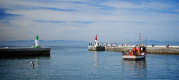 Kalk Bay harbor Cape Town Royalty Free Stock Photo