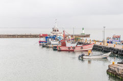 Kalk Bay Harbor Royalty Free Stock Photo