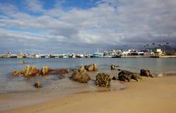 Kalk Bay Harbour Beach Stock Photo
