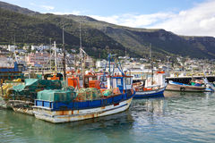 Kalk Bay Harbour Beach Stock Image