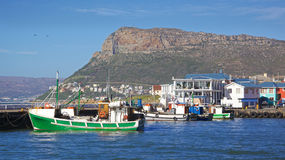 Kalk Bay Harbour Beach Royalty Free Stock Photos