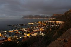 Kalk Bay Harbour early morning Stock Images