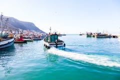 Kalk bay harbour. Stock Photography