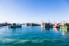 Kalk bay harbour. stock images