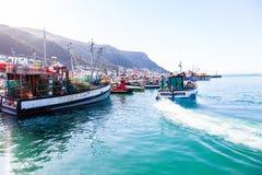 Kalk bay harbour. Stock Photos