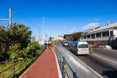 Kalk Bay Town και οδοί Στοκ Εικόνες