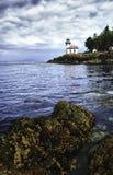 Kalk-Brennofen-Leuchtturm lizenzfreies stockfoto