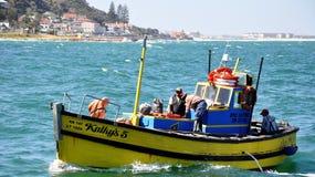 Kalk-Bucht-Hafen Cape Town, Südafrika stockbilder