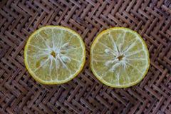 Kalk (citroen) Royalty-vrije Stock Afbeeldingen