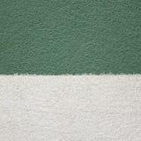 Kalk groene muren met witte achtergrond Royalty-vrije Stock Afbeelding