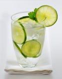 Kalk op smaak gebracht water Royalty-vrije Stock Fotografie