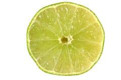 Kalk-Scheibe Stockbild