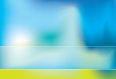 Kalk und blauer Auszug stock abbildung