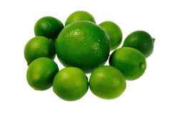 Kalk und limquats Stockfotos