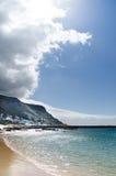 Kalka zatoki plaża Obraz Stock