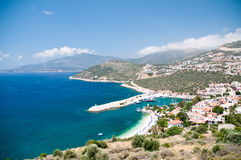 Kalkan view, Turkey Royalty Free Stock Image