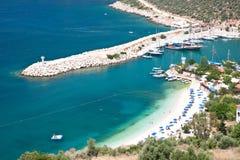 Kalkan widok, Turcja Zdjęcia Royalty Free