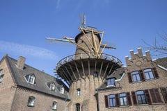 Kalkar germany historic windmill Stock Photography