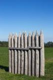 Kalkar palissaden på Vielbrunn Royaltyfria Bilder