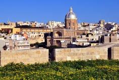 Kalkara, Мальта Стоковые Фото