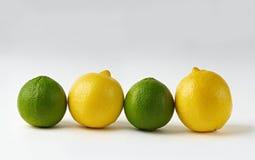 Kalke und Zitronen Lizenzfreie Stockfotografie