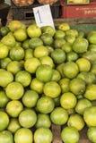 Kalkfrüchte für Verkauf Havana Lizenzfreies Stockbild