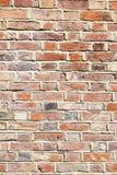 Kalkmörtel-Backsteinmauerhintergrund Stockbild