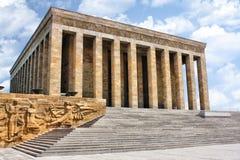 kalkon för ankara ataturkmausoleum Arkivbild