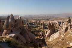 kalkon för cappadociagrottastad Arkivbild
