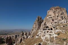 kalkon för cappadociagrottastad Fotografering för Bildbyråer