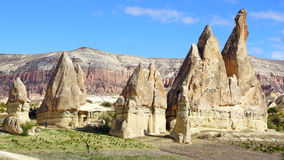 kalkon för cappadocialampglasfe Royaltyfria Bilder