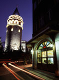 kalkon för galataistanbul torn Royaltyfri Bild