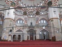 kalkon för istanbul moskésehzade Royaltyfri Fotografi