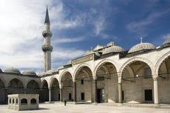 kalkon för istanbul moskésuleymaniye Arkivbilder