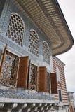 kalkon för istanbul slotttopkapi Arkivbilder