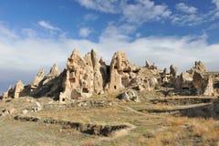 kalkon för town för cappadociagrottabildande stenig Royaltyfria Foton