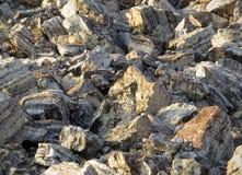 Kalksteenkeien Royalty-vrije Stock Afbeelding