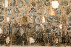 Kalksteenmuren stock afbeeldingen
