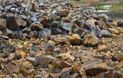 Kalkstein quarry Lizenzfreies Stockbild