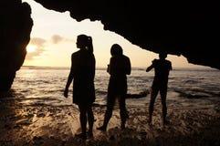 Kalksteinhöhle Lizenzfreies Stockbild