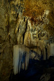 Kalksteinhöhlen. Lizenzfreies Stockfoto