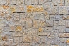 Kalksteinwand - nahtlose Maurerarbeit Lizenzfreie Stockfotos