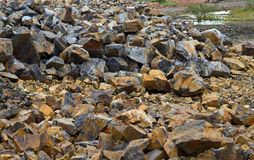 Kalksten quarry Royaltyfri Bild
