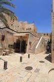 Kalkstenbyggnader, Jerusalem gammal stad Royaltyfri Foto
