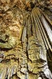 Kalkstengrotta av Nerja arkivfoton