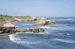 Kalkstenkust södra Australien Royaltyfri Foto