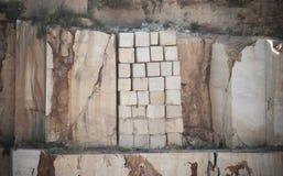 Kalkstenkvarter Arkivbilder